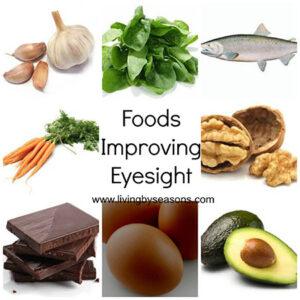 foods to improve eyesight