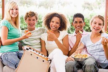 teenagers eating habbits