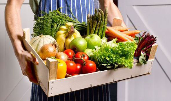 7 portion of fruits and vegetables a day
