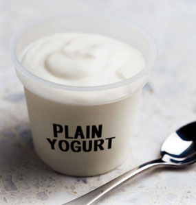 Plain Yogurt - natural cure for bad breath
