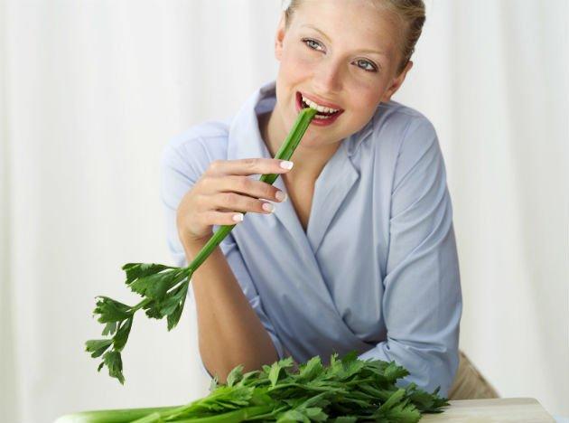 negative calorie food - celery