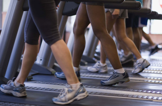 97 Minutes on Treadmill is 10000 steps or 708 calories