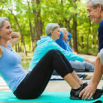 Fitness Workout Exercise Training For Over 60s