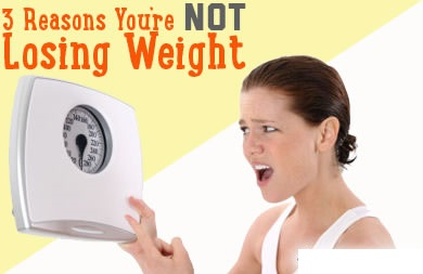 3 Reasons Why You Are Exercising but Not Losing Weight