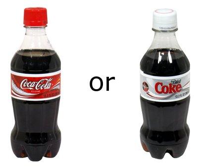 Drop 10lbs in 12 Weeks - Swap Regular to Diet Soda